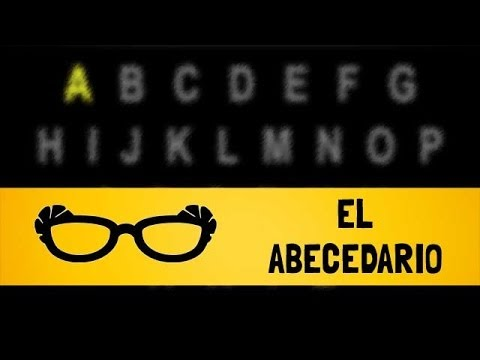 El Abecedario en Inglés [ABC versión lenta] - Pronounce The English Alphabet [ABC slow version]