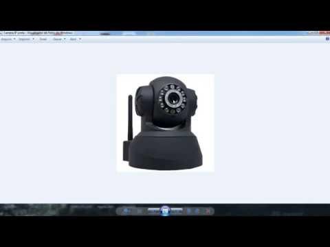 Como configurar camera IP + WI FI + acesso remoto- MODELO 1