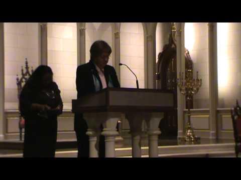 Interfaith Thanksgiving Service - Rev. Kathy Goodwin, Sr. Claire McGowan, Dr. Muhammad Babar