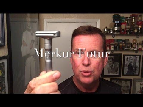 Merkur Futur Razor, Lord Platinum Blades and Stirling Ozark Mountain soap. First use.