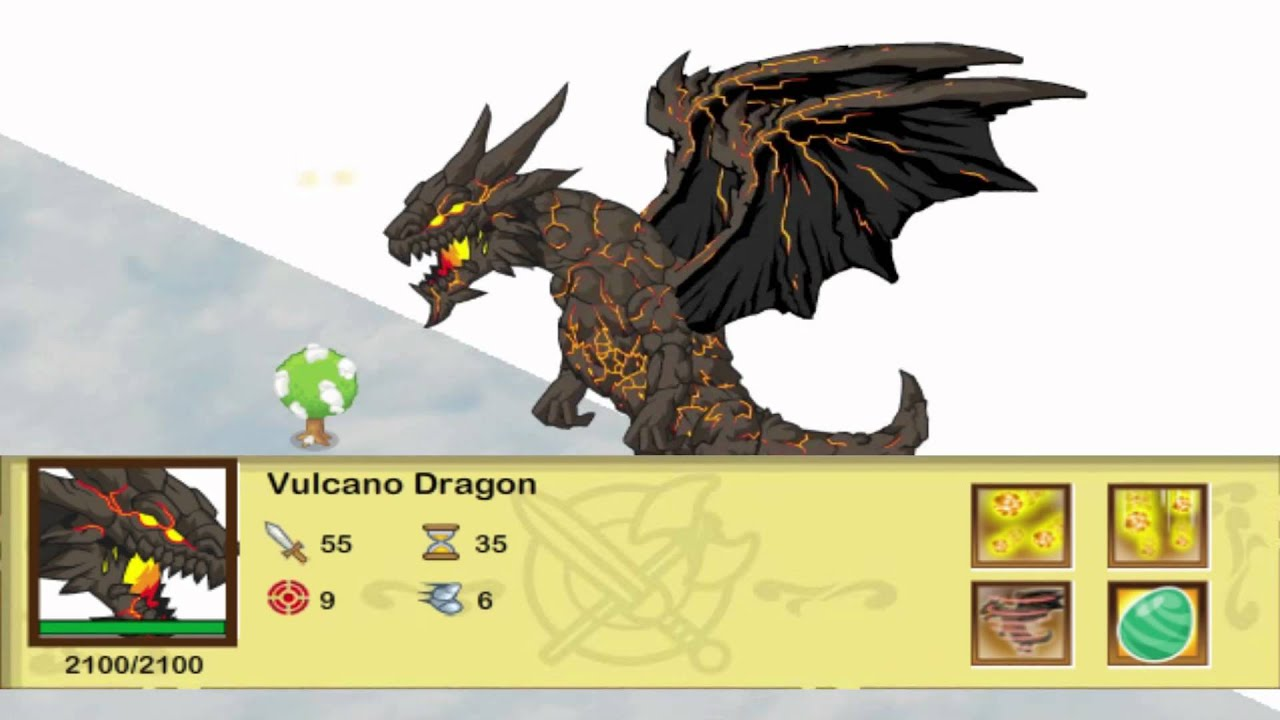 All Dragon in Social Empires Social Empires Vulcano Dragon