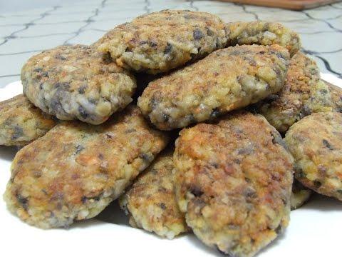 Грибные котлеты Котлеты из грибов Видео рецепт
