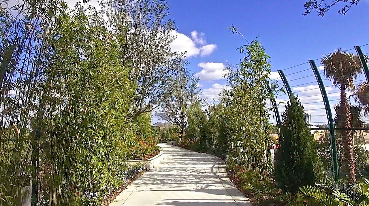 New Cabana Bay Beach Resort Pedestrian Bridge And Walkway