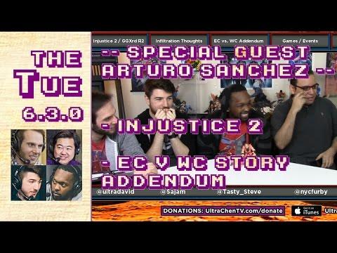 Tuesday 2017-01-17: Injustice 2, Infil Interview, FGC Stroy Addendum (EC v WC), Etc. (6.3.0)