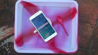 Samsung Galaxy J5 Water Test -  It Is Water Resistant ?