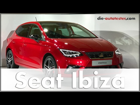 2017 Seat Ibiza Weltpremiere in Barcelona | Design | Technik | Ibiza 5 | Auto | Deutsch