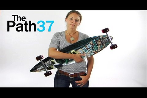 The Path 37 Longboard by Original Skateboards