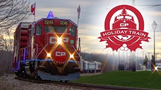 The 2016 Canadian Pacific Holiday Train!