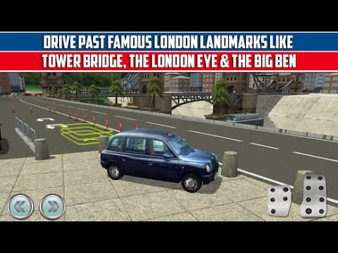 3D London City Car Parking Simulator GamePlay