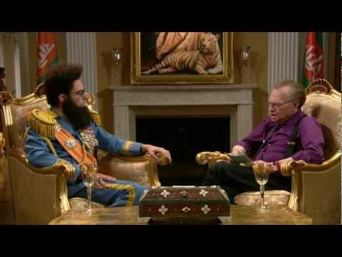The Dictator - Larry King Interview video