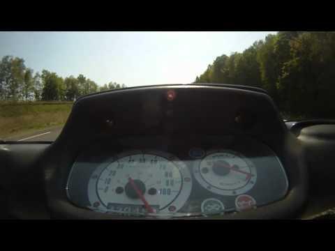 MBK Booster Rocket équipé du kit MXS Racing 135km/h en caméra embarquée
