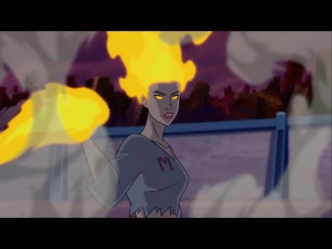 Firestar - All Scenes Powers   Wolverine And The X-Men