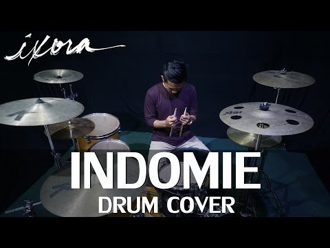 Indomie Mie Dari Indonesia - Lagu Indomie - SkinnyIndonesian24 - Drum cover - Ixora (Wayan)