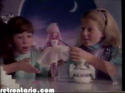 Mattel Spectra and Spark Sci Fi Barbie 1987