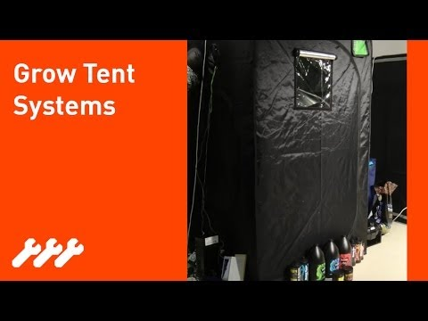 #10 - How to build a hydroponic grow box or grow tent system no expense spared