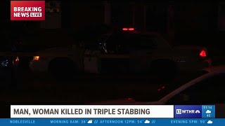 Two fatally stabbed