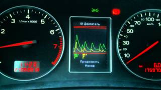 Audi A4 B6 color instrument cluster - Part 1