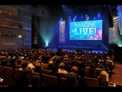 ImagineLIVE! Europe: Eight visionaries. One energy-packed event.