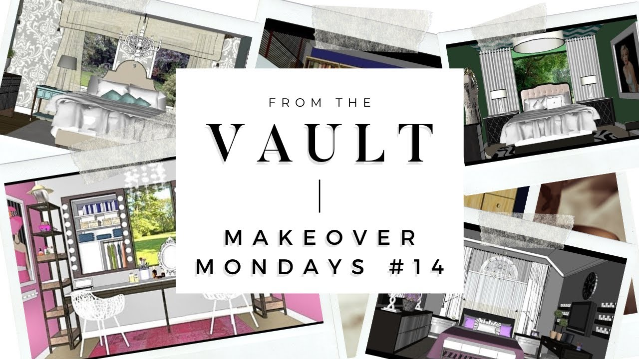 ROOM TOUR #14 Makeover Mondays: Hot PINK Bedroom - YouTube