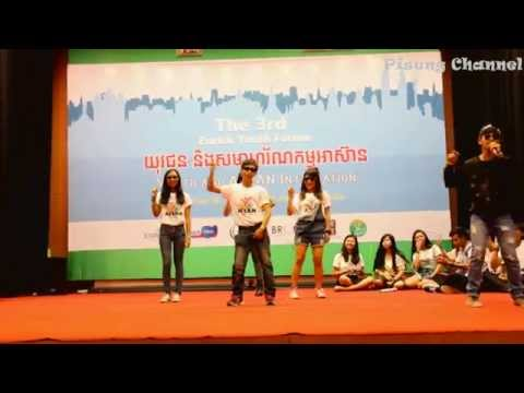 Lazy Song Covered by The Flash Cambodia on Enrich Youth Forum 16 Nov 2014