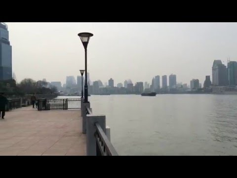 The impressive views in the city of Shanghai (Pudong, lujiazui, the bund)