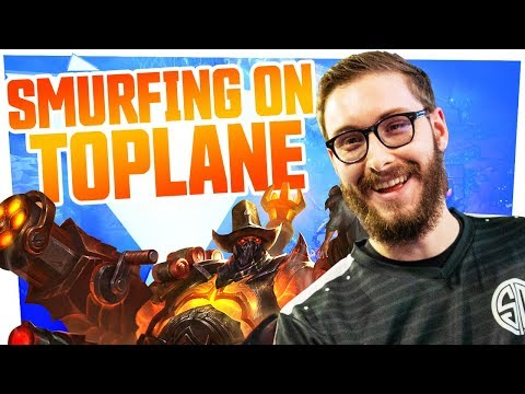 Download  Bjergsen - SMURFING ON TOPLANE Gratis, download lagu terbaru
