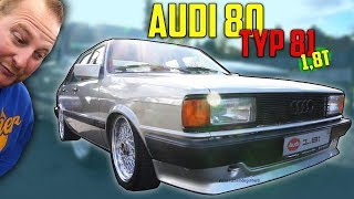 Diagnose: ZWILLING !  Audi 80 Typ 81 - 1,8T MOTOR SWAP