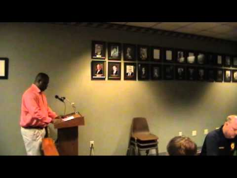Clarksdale Board of Mayor and Commissioners meeting 5-26-15