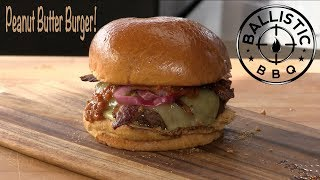 Best Peanut Butter Bacon Cheeseburger Recipe | Two Rivers Brewing Co.