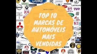 TOP 10 marcas mais vendidas de automóveis em PT