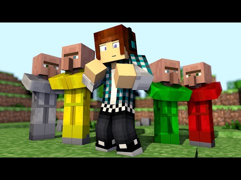 Minecraft Mod: Novos Villagers !! ( Villager Soldado,Mineiro,Arqueiro) !! - Helpful Villagers Mod