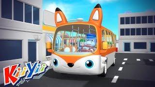 Колёса у автобуса крутятся- часть 3 + Еще! | детские песни | KiiYii | мультфильмы для детей