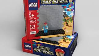 New MAGA building blocks urge kids to 'Build the Wall'