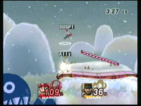Boss(Mario) vs Ally(Snake) Friendly Set 1