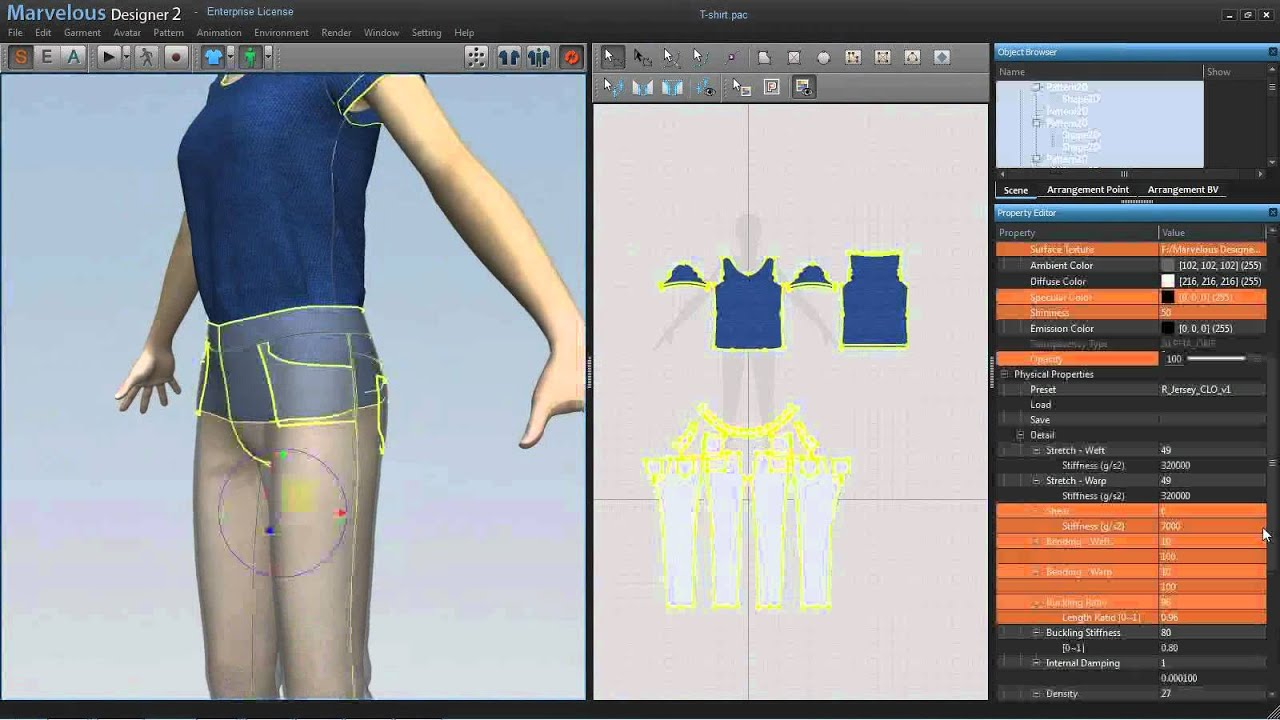 Clothing Design Software Mac with Marvelous Designer