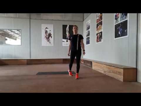 Alleniamoci con Anna Cavallaro Training 2