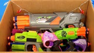 Box of Toys 🔫 Box Full of Toys 💥 Toy Guns 🔫 Kids Toys 🎉 Military 🚨 NERF 👍 Kids Fun