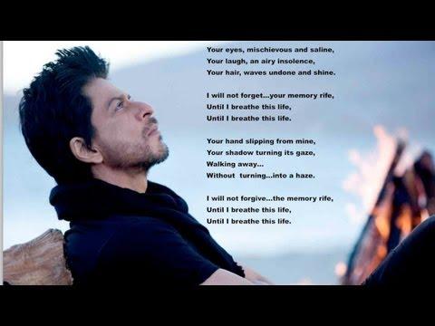 Shah Rukh & His Fans Turn Poets!