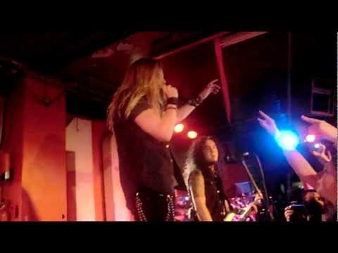 Dragonforce - Starfire, live at the 100 Club 16 February 2012