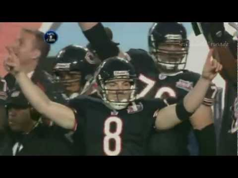 Devin Hester's 92 yard kick return in the 2006 Super Bowl.