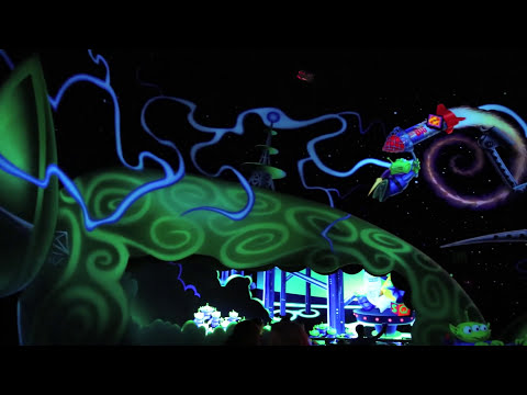Buzz Lightyear Astro Blasters (HD POV) - Disneyland Resort