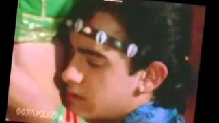 Sexy Bollywood Actress Juhi Chawla hot Navel Kiss and round ass grab in saree compilation