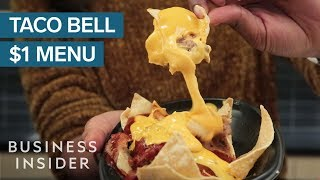 We Tried Everything On Taco Bell's Dollar Cravings Menu