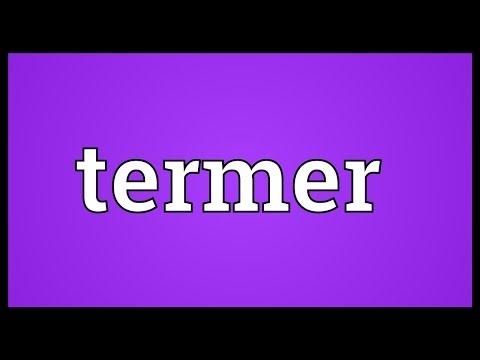 Header of termer