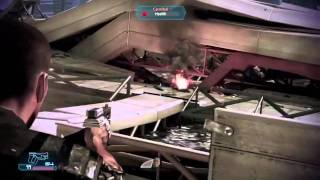 Mass Effect 3 - Escape from Earth (Gameplay - Better Quality)