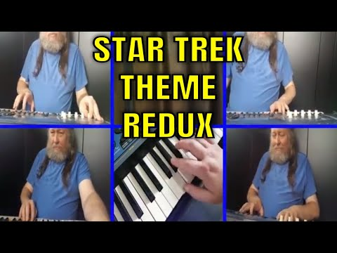 BigHairyKev Performs - Star Trek Theme - Redux