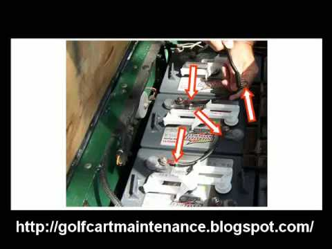 Golf Cart Battery Charger Batteries Lead Acid Maintenance