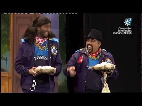 Cuarteto - Los Polivalientes | Actuación Completa en SEMIFINALES | Carnaval 2013