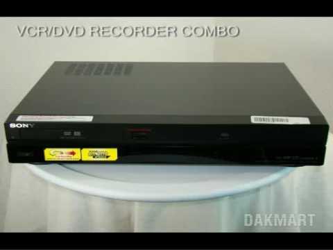 Sony Rdr-Vx525 VCR / DVD Recorder Combo - Rdrvx525