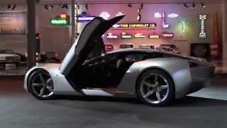 2009 Chevrolet Corvette Stingray Concept: On the move
